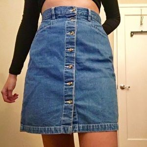 Eddie Bauer denim skirt